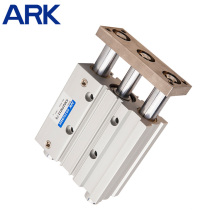 High Quality Double Action Type Rod Air Pneumatic Cylinder
